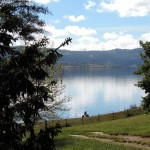 Lake Jindabyne from front door